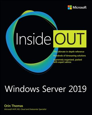Windows Server 2019 Inside Out-cover