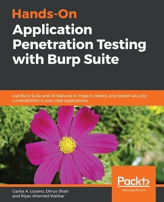 Hands-On Application Penetration Testing with Burp Suite-cover