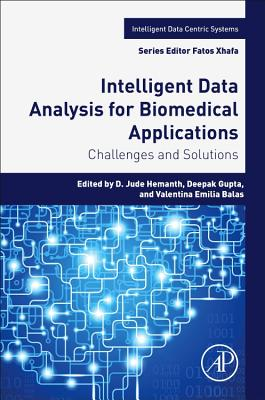 Intelligent Data Analysis for Biomedical Applications: Challenges and Solutions-cover