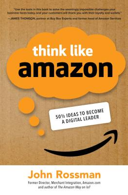 Think Like Amazon: 50 1/2 Ideas to Become a Digital Leader-cover