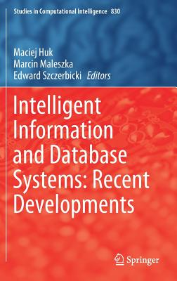 Intelligent Information and Database Systems: Recent Developments-cover