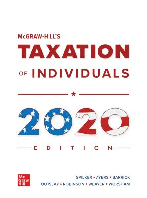 McGraw-Hill's Taxation of Individuals 2020 Edition-cover