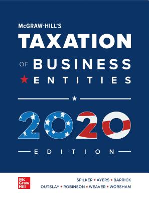 Loose Leaf for McGraw-Hill's Taxation of Business Entities 2020 Edition-cover