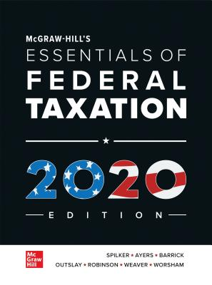McGraw-Hill's Essentials of Federal Taxation 2020 Edition-cover