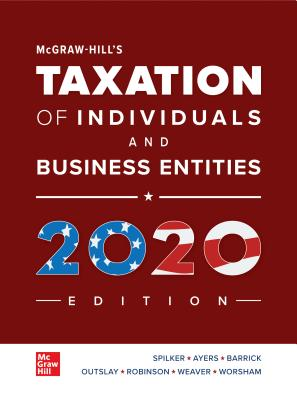 Loose Leaf for McGraw-Hill's Taxation of Individuals and Business Entities 2020 Edition-cover