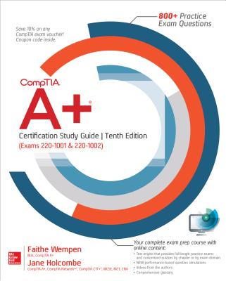 CompTIA  A+ Certification Study Guide, Tenth Edition (Exams 220-1001 & 220-1002)-cover
