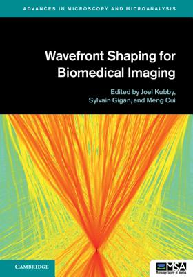 Wavefront Shaping for Biomedical Imaging-cover