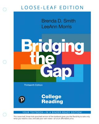 Bridging the Gap: College Reading, Loose-Leaf Edition-cover