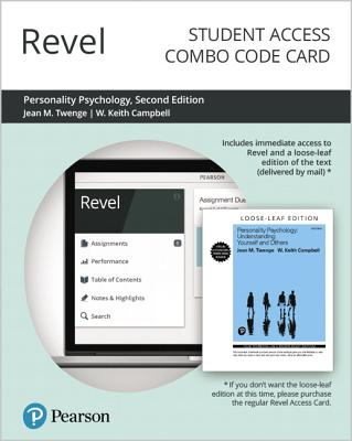 Revel for Personality Psychology: Understanding Yourself and Others -- Combo Access Card-cover