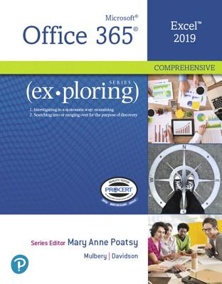 Exploring Microsoft Office Excel 2019 Comprehensive-cover