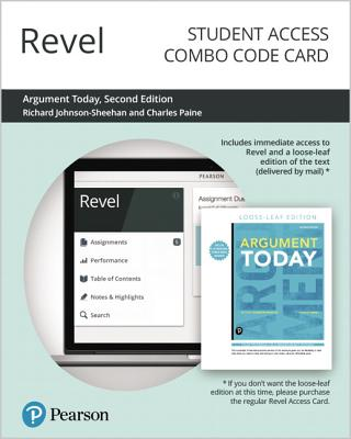 Revel for Argument Today -- Combo Access Card-cover