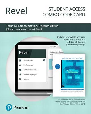 Revel for Technical Communication -- Combo Access Card-cover