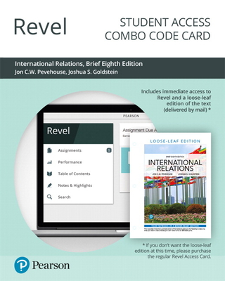 Revel for International Relations, Brief Edition -- Combo Access Card-cover