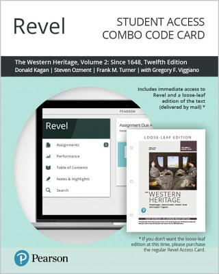 Revel for the Western Heritage, Volume 2 -- Combo Access Card-cover