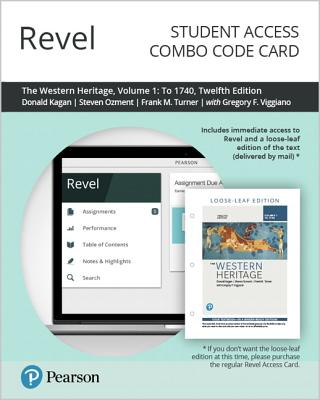 Revel for the Western Heritage, Volume 1 -- Combo Access Card-cover