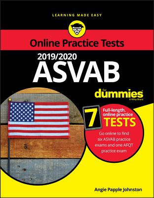 2019 / 2020 ASVAB for Dummies with Online Practice-cover