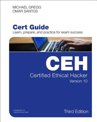 Certified Ethical Hacker (Ceh) Version 10 Cert Guide 3/e-cover