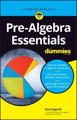 Pre-Algebra Essentials for Dummies-cover