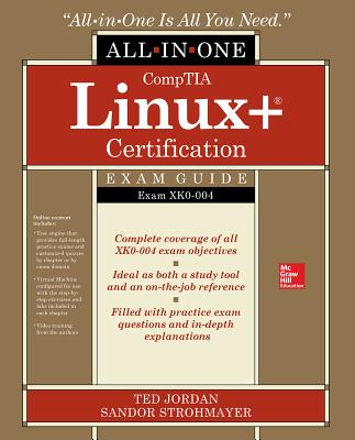 CompTIA Linux+ Certification All-in-One Exam Guide: Exam XK0-004-cover