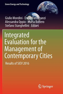 Integrated Evaluation for the Management of Contemporary Cities: Results of Siev 2016-cover