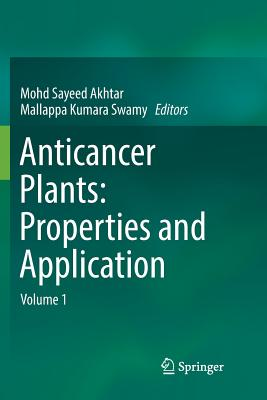 Anticancer Plants: Properties and Application: Volume 1-cover