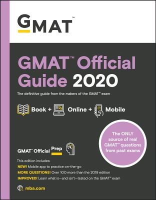 GMAT Official Guide 2020: Book + Online Question Bank-cover