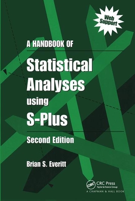 A Handbook of Statistical Analyses Using S-Plus, Second Edition-cover
