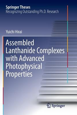 Assembled Lanthanide Complexes with Advanced Photophysical Properties-cover