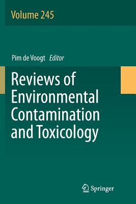 Reviews of Environmental Contamination and Toxicology Volume 245-cover