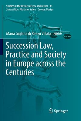 Succession Law, Practice and Society in Europe Across the Centuries