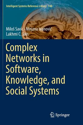 Complex Networks in Software, Knowledge, and Social Systems-cover