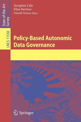 Policy-Based Autonomic Data Governance-cover