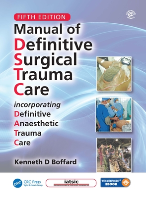 Manual of Definitive Surgical Trauma Care, Fifth Edition-cover
