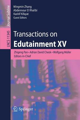 Transactions on Edutainment XV-cover