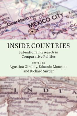 Inside Countries: Subnational Research in Comparative Politics-cover