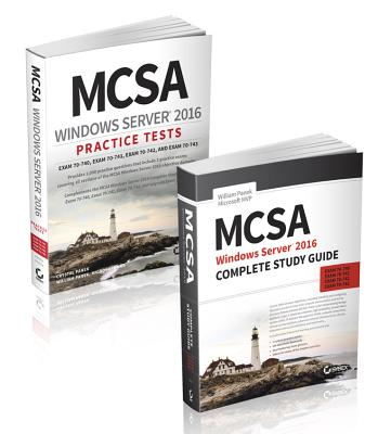 McSa Windows Server 2016 Complete Study Guide & Practice Tests Kit-cover