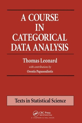 A Course in Categorical Data Analysis-cover