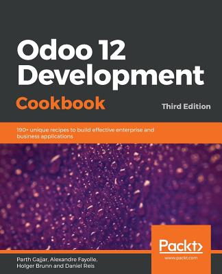 Odoo 12 Development Cookbook 3/e-cover