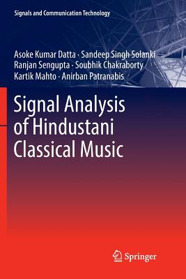 Signal Analysis of Hindustani Classical Music-cover