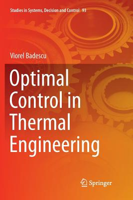 Optimal Control in Thermal Engineering-cover