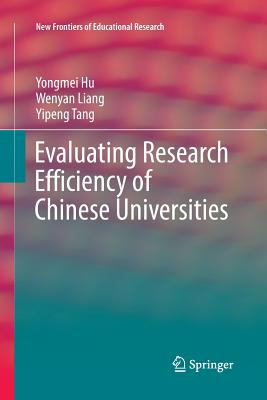 Evaluating Research Efficiency of Chinese Universities-cover