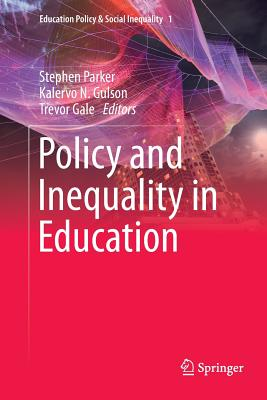 Policy and Inequality in Education-cover