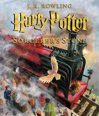 Harry Potter and the Sorcerer's Stone: The Illustrated Edition (Harry Potter, Book 1), Volume 1: The Illustrated Edition-cover