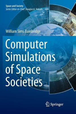 Computer Simulations of Space Societies-cover