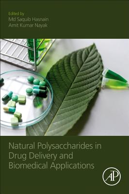 Natural Polysaccharides in Drug Delivery and Biomedical Applications-cover