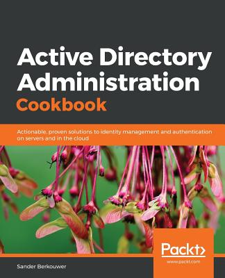 Active Directory Administration Cookbook-cover