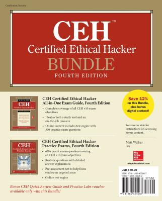 Ceh Certified Ethical Hacker Bundle, Fourth Edition [With Access Code]-cover