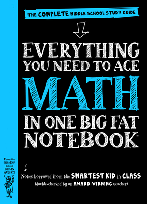 Everything You Need to Ace Math in One Big Fat Notebook: The Complete Middle School Study Guide-cover