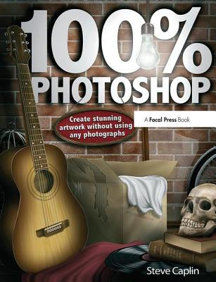 100% Photoshop: Create Stunning Illustrations Without Using Any Photographs-cover