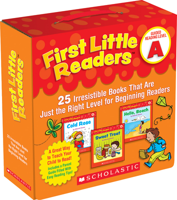First Little Readers: Guided Reading Level A: 25 Irresistible Books That Are Just the Right Level for Beginning Readers-cover
